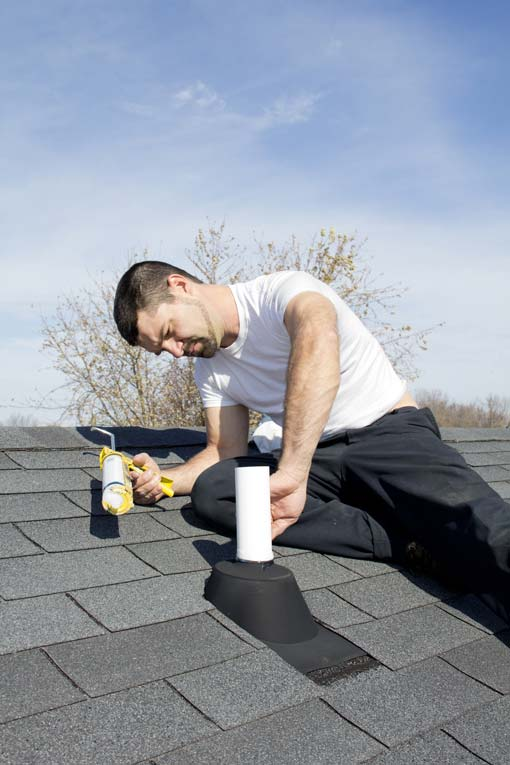 Leaks Often Occur At The Flashing In Valleys Or Where